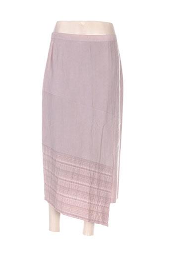 Jupe longue violet FRANCOIE F pour femme