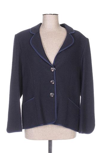 Veste chic / Blazer bleu CREATIONS SONIA pour femme