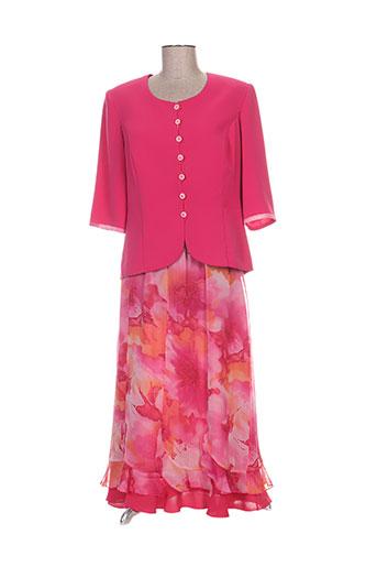 Veste/jupe rose C.S CREATIONS pour femme