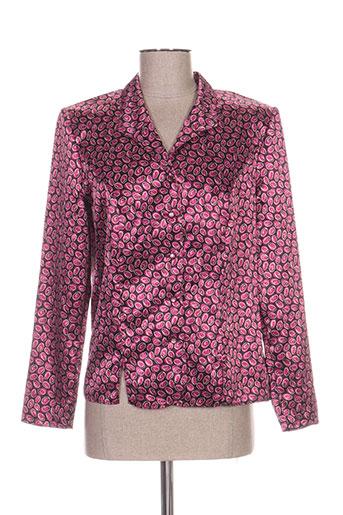francoise de france chemises femme de couleur violet