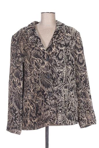 c.s creations vestes femme de couleur gris
