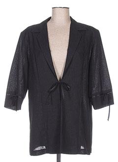 Veste casual noir REGINE pour femme