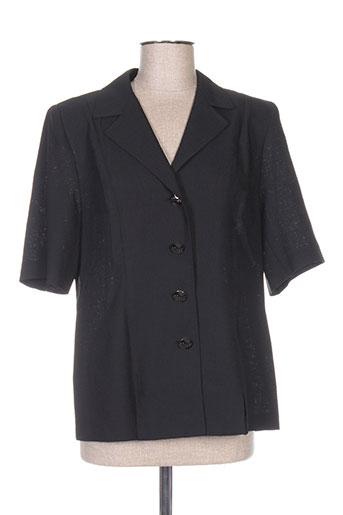 Veste casual noir CHRISTIAN MICHEL pour femme