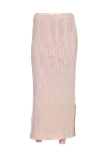 devernois jupes femme de couleur beige