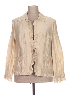 Veste casual beige REGINE pour femme