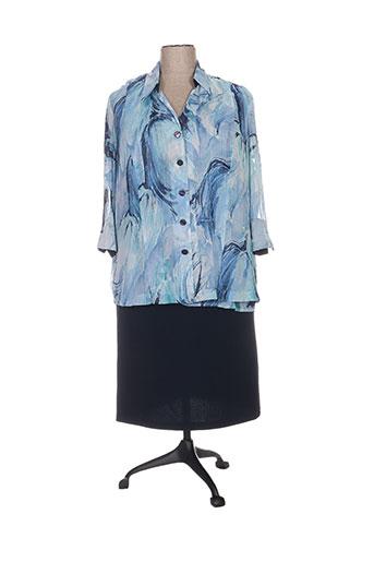 Top/robe bleu REGINE pour femme