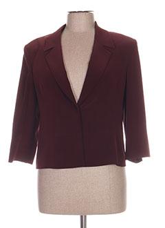Veste chic / Blazer rouge ANTONELLE pour femme