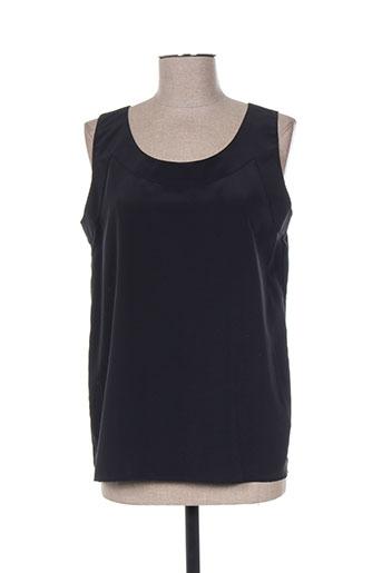 marcelle griffon chemises femme de couleur noir