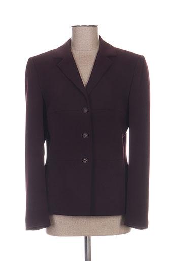 antonelle vestes femme de couleur violet