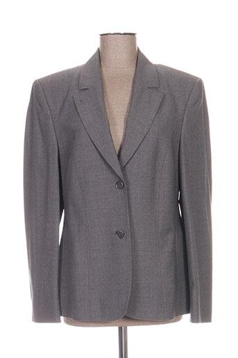 Veste chic / Blazer gris DELMOD pour femme