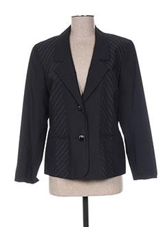 Veste chic / Blazer noir FRANCOISE F pour femme