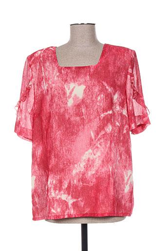 coutureine chemises femme de couleur rouge