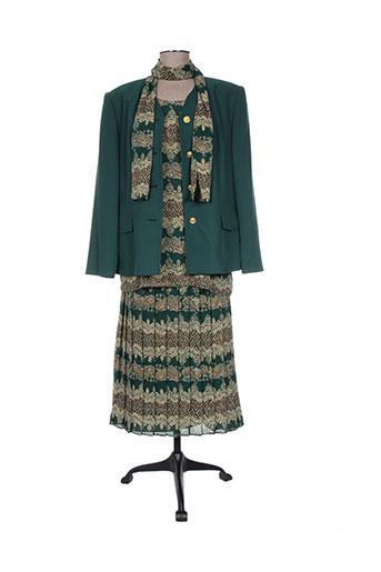 delmod ensemble femme de couleur vert