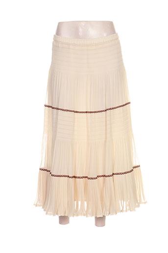 c.s creations jupes femme de couleur beige