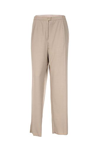 karting pantalons femme de couleur beige