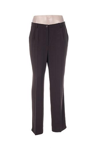 Pantalon chic marron HUCKE WOMAN pour femme