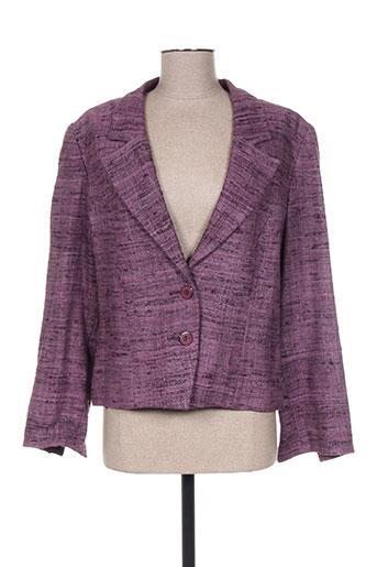 Veste chic / Blazer violet FRANCOISE DE FRANCE pour femme