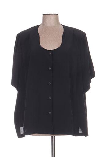 jean biolay chemises femme de couleur noir