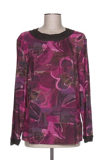 luisa viola t-shirts femme de couleur violet