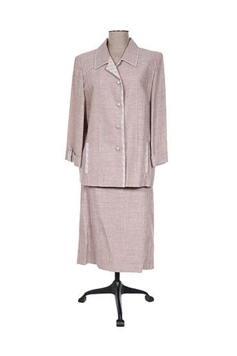 Veste/jupe beige NONET pour femme