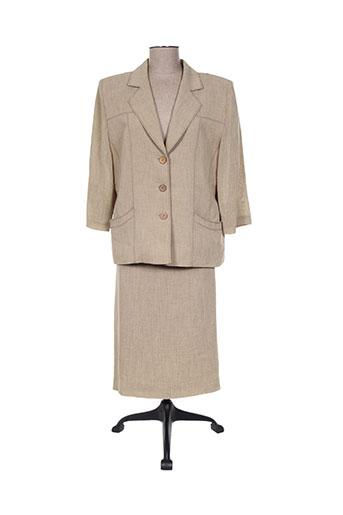 Veste/jupe beige REGINE pour femme