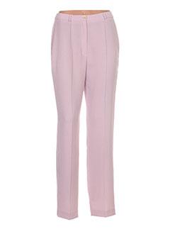 Pantalon casual violet ANTONELLE pour femme
