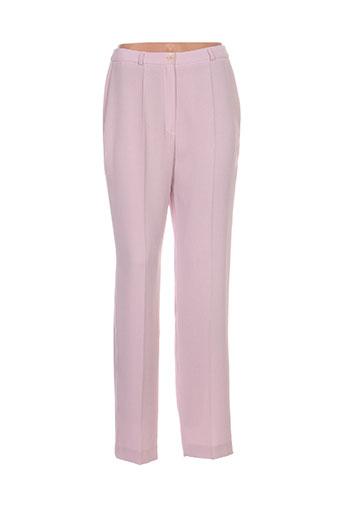 antonelle pantalons femme de couleur violet