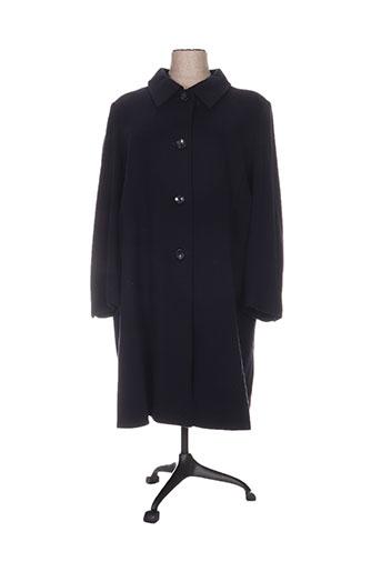 fashion manteaux femme de couleur bleu