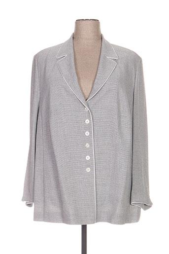 frankenwälder vestes femme de couleur gris