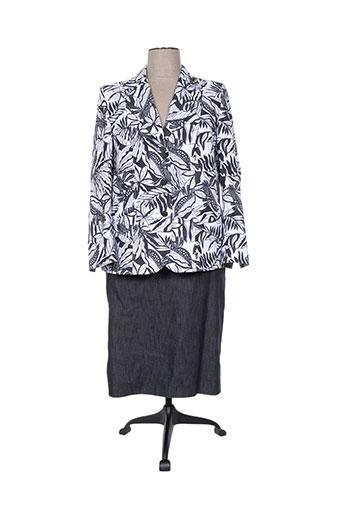 Veste/jupe gris REGINE pour femme