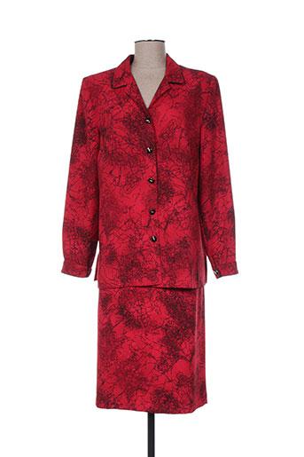 Veste/jupe rouge CHRISTIAN MICHEL pour femme