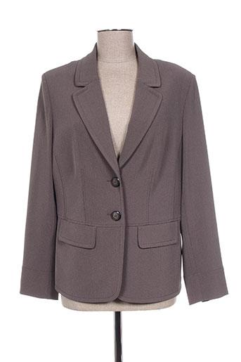 sommermann vestes femme de couleur gris