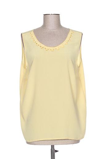 francoise de france t-shirts femme de couleur jaune