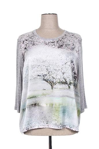 lucia chemises femme de couleur gris