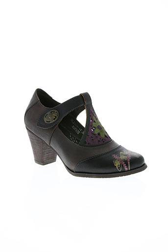 laura vita chaussures femme de couleur marron