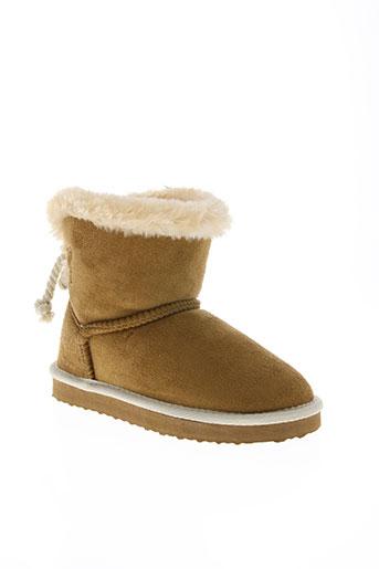les p'tites bombes chaussures fille de couleur marron