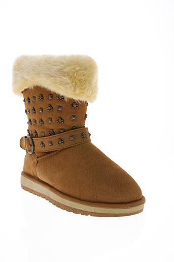 ilario ferucci chaussures femme de couleur marron
