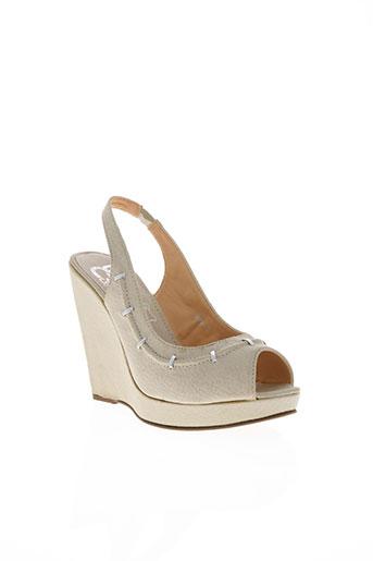 cassis cote d'azur chaussures femme de couleur beige