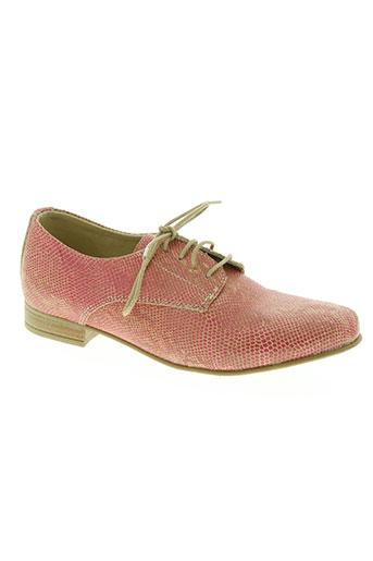 w style chaussures femme de couleur rose