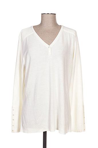 felino pulls femme de couleur blanc