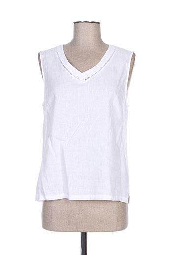 concept k chemises femme de couleur blanc