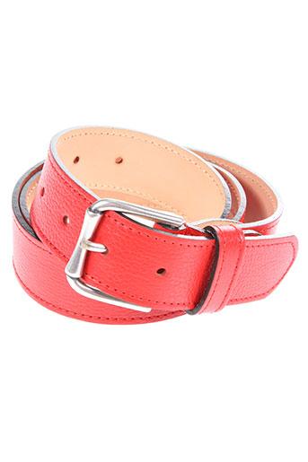 jean-louis foures accessoires femme de couleur rouge