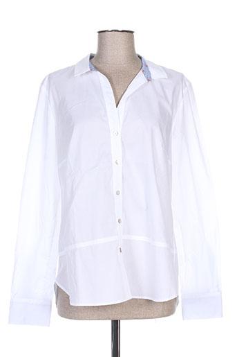 d.sport chemises femme de couleur blanc
