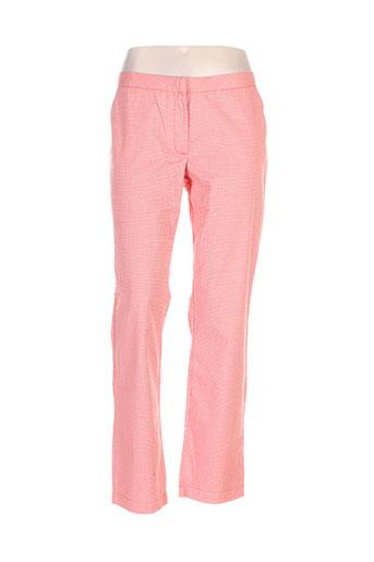 cks pantalons femme de couleur orange