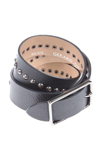 gerard darel accessoires unisexe de couleur noir