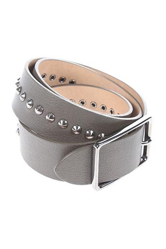gerard darel accessoires unisexe de couleur gris