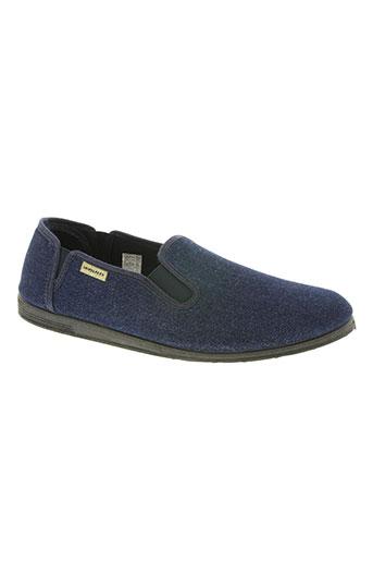 semelflex chaussures homme de couleur bleu