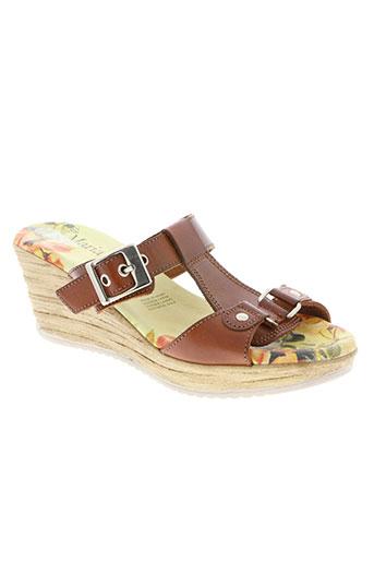 maria moda chaussures femme de couleur marron