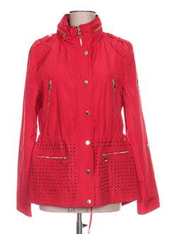 Manteaux Femme De Couleur Rouge En Soldes Pas Cher - Modz 1eec9716f68
