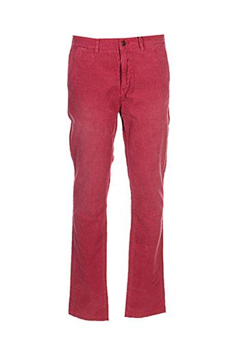 Pantalon casual rouge SCOTCH & SODA pour homme
